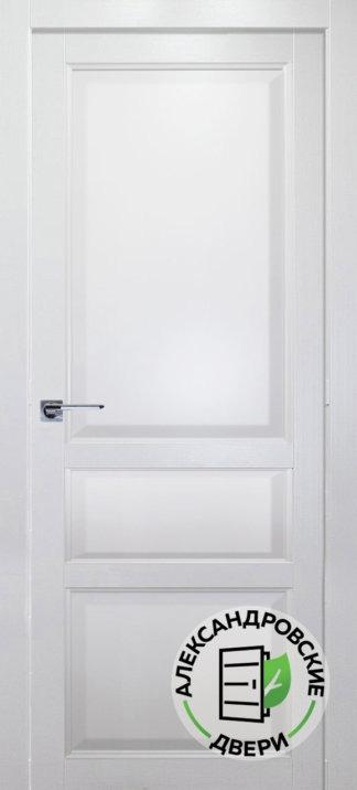 Александровские двери Каролина эмаль белая