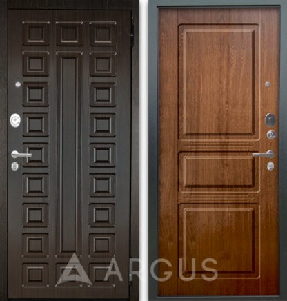Сейф-дверь Аргус Люкс АС 2П СЕНАТОР ВЕНГЕ/САБИНА ДУБ ЗОЛОТОЙ