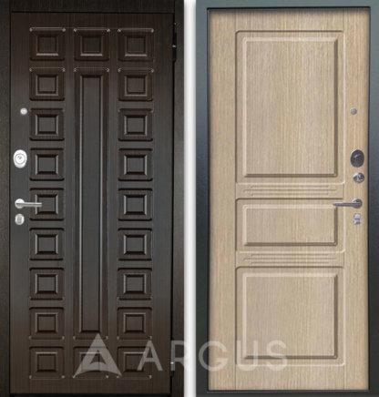 Сейф-дверь Аргус Люкс АС 2П СЕНАТОР ВЕНГЕ/САБИНА КАПУЧИНО
