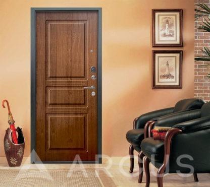 Сейф-дверь Аргус Люкс АС 2П ТРИУМФ ВЕНГЕ/САБИНА ДУБ ЗОЛОТОЙ