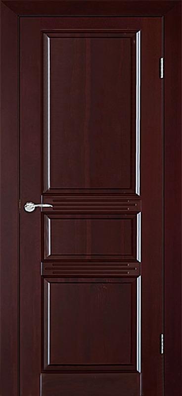 Межкомнатная дверь Аргус Джулия 2 ДГ Красное дерево