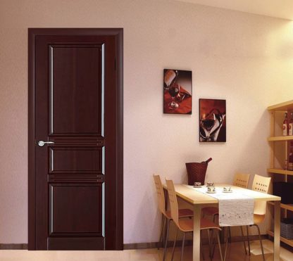 Межкомнатная дверь Аргус Джулия 2 ДГФ Красное дерево