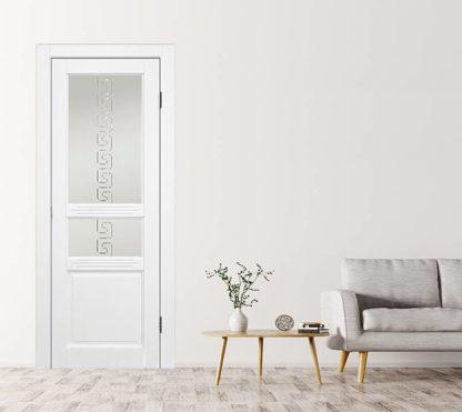 Межкомнатная дверь Аргус Джулия 2 ДО Белый жемчуг