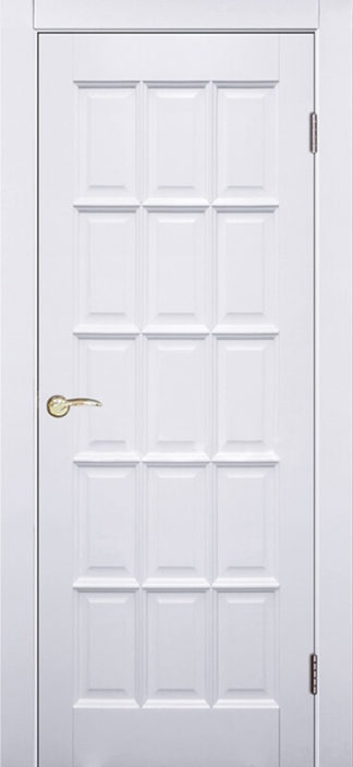 Межкомнатная дверь Аргус Прима ДГ Белый жемчуг
