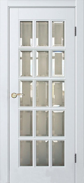 Межкомнатная дверь Аргус Прима ДО Белый жемчуг