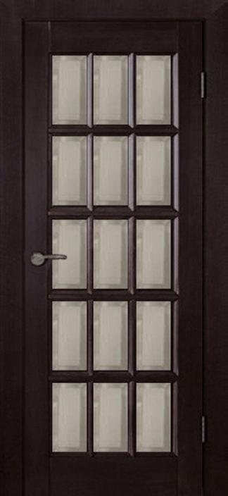 Межкомнатная дверь Аргус Прима ДО Венге