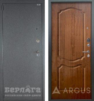 Стальная сейф дверь Берлога 3К Сонет Дуб золотой