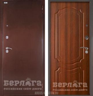 Купить входную дверь для квартиры Берлога Оптима Мишель Дуб рустикальный