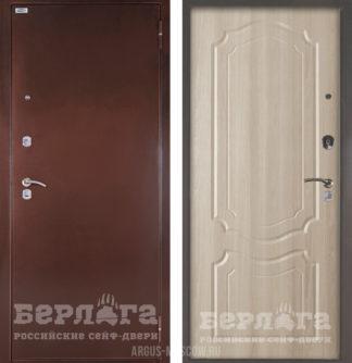 Металлическая дверь Берлога Оптима Мишель Ларче светлый