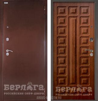 Входная сейф-дверь Берлога Оптима Сенатор Дуб рустикальный