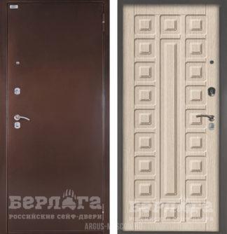 Металлическая дверь Берлога Оптима Сенатор Ларче светлый