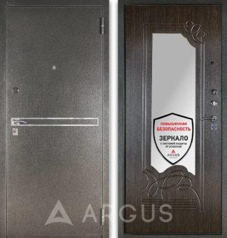Металлическая сейф-дверь с зеркалом Аргус Стиль ДА-6 Франк