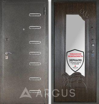 Входная железная дверь с зеркалом Аргус Стиль ДА-6 Элис