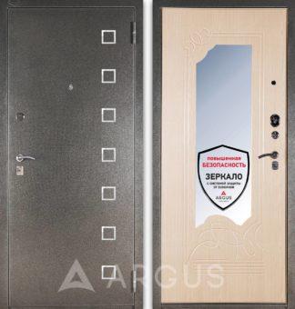 Стальная входная дверь с зеркалом Аргус ДА-8 Даллас