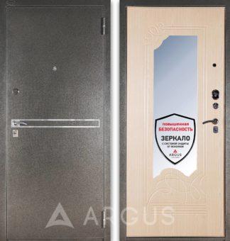 Металлическая дверь с зеркалом Аргус Стиль ДА-8 Франк