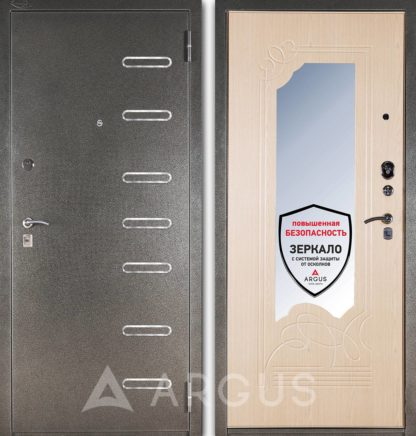 Входная дверь с зеркалом Аргус Стиль ДА-8 Элис