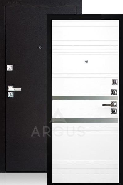 Стальная дверь со стеклянными вставками Аргус Люкс ДА-92