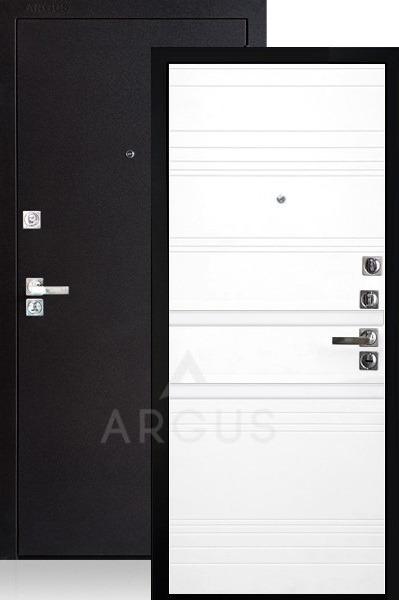Входная дверь со стеклянными вставками Аргус Люкс ДА-92