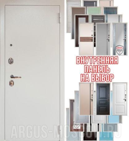 Входная дверь Аргус Люкс 3К Снежно-белый