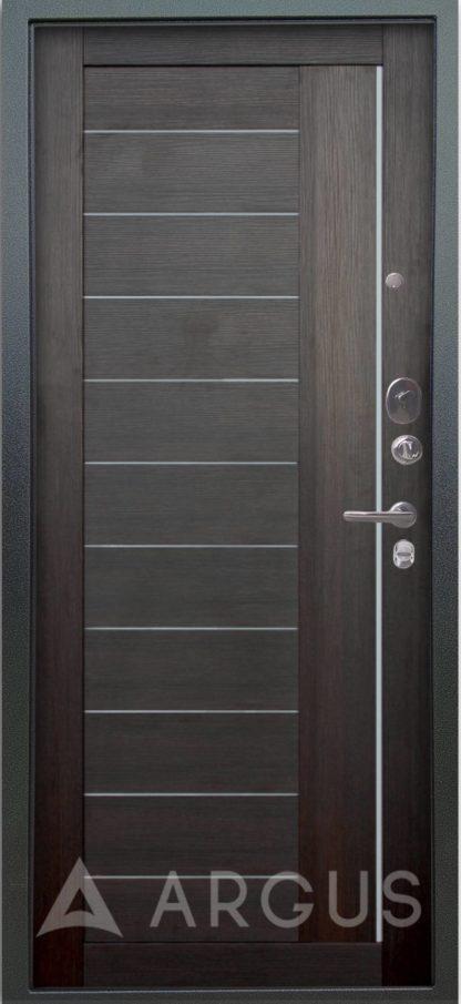 Стальная сейф дверь Аргус Люкс 3К Серебро антик Диана Вельвет