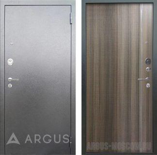 Стальная сейф дверь с 3D структурой и молдингом Аргус Люкс 3К Серебро антик Гауда Керамика