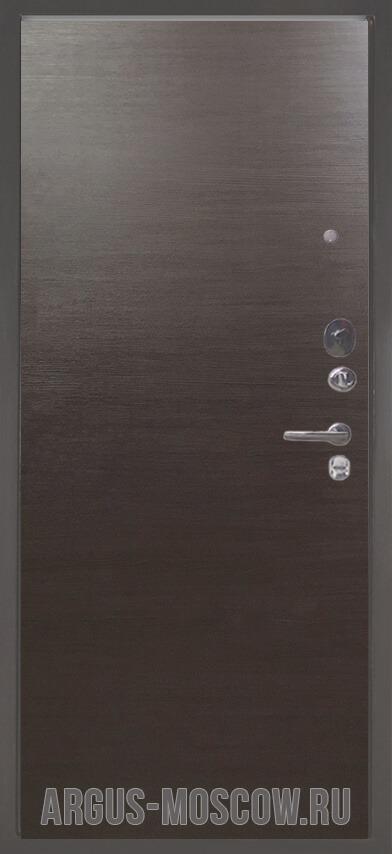 Металлическая входная дверь Аргус Люкс 3К Серебро антик Элегант Венге