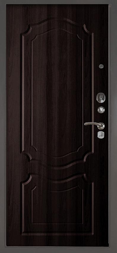 Входная сейф-дверь Аргус Люкс 3К Серебро антик Мишель Венге