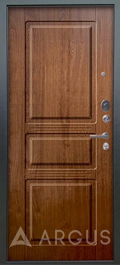 Купить сейф дверь Аргус Люкс 3К Серебро антик Сабина Дуб золотой
