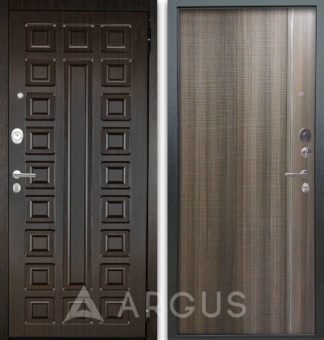 Входная стальная дверь Аргус Люкс АС 2П Сенатор Венге/Гауда Керамика