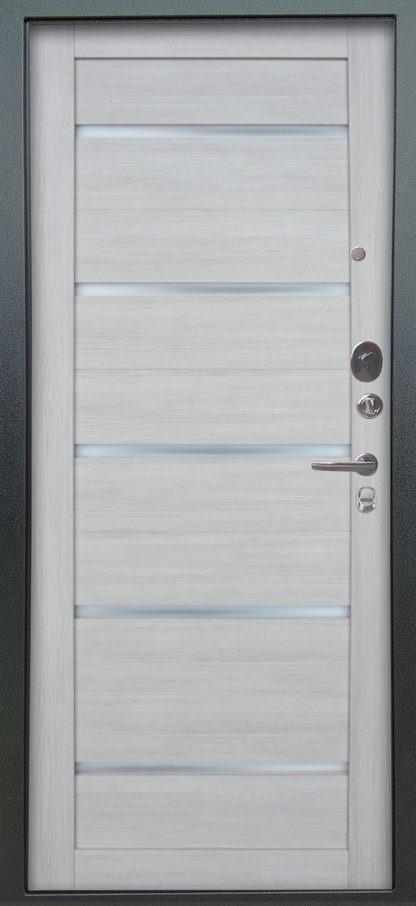 Дверь со стеклом Аргус Люкс АС 2П Сабина Венге/Александра Буксус