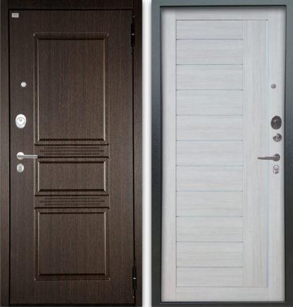 Сейф-дверь Аргус Люкс АС 2П Сабина Венге/Диана Буксус