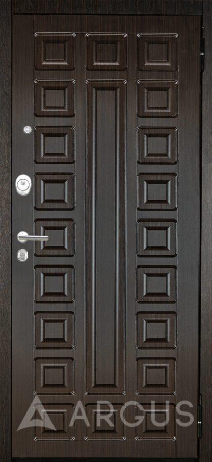 Дверь с зеркалом Аргус Люкс АС 2П Сенатор Венге