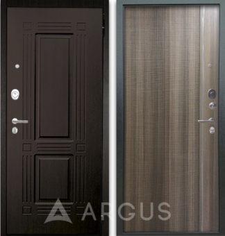Входная дверь с молдингами Аргус Люкс АС 2П Триумф Венге/Гауда Керамика