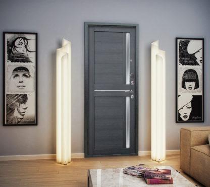 Входная сейф-дверь Аргус Люкс АС 2П Триумф Венге/Мирра Лунная ночь