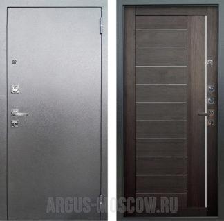 Сейф-дверь с молдингами и стеклянными вставками Аргус Люкс ПРО 3К Серебро антик ДИАНА ВЕЛЬВЕТ