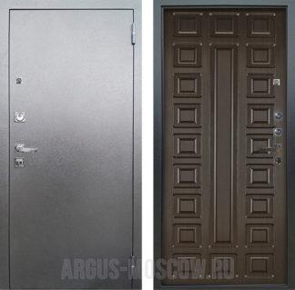 Стальная дверь Аргус Люкс ПРО 3К Серебро антик СЕНАТОР ВЕНГЕ ТИСНЕНЫЙ