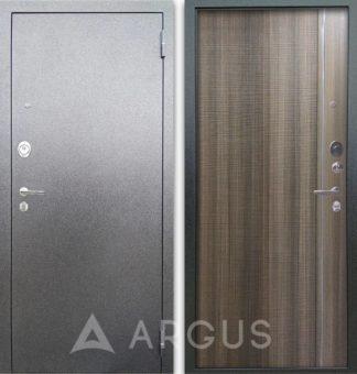 Металлическая дверь с молдингами Аргус Люкс АС Серебро антик Гауда Керамика