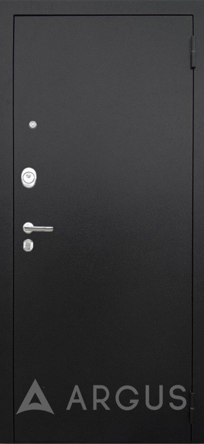 Металлическую входную дверь Аргус Люкс ПРО Черный шелк