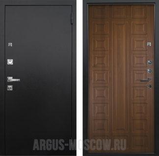 Сейф дверь Аргус Люкс ПРО 3К Черный шелк Сенатор Дуб рустикальный