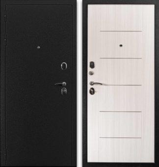 Металлическая дверь Воевода Рекрут-1 с молдингами