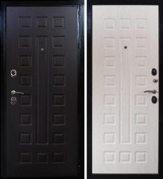 Металлическая дверь Воевода Сармат Кале Сандал белый