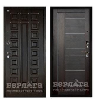 Сейф-дверь Берлога Оптима 2П Сенатор Венге/Диана Вельвет