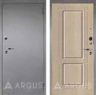 Сейф-дверь Аргус Люкс ПРО Серебро антик Триумф Капучино