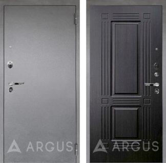 Сейф-дверь Аргус Люкс ПРО 3К Серебро антик Триумф Венге тисненый