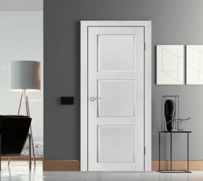 Межкомнатная дверь Аргус Сиена ДГ Белый жемчуг
