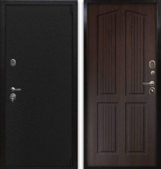 Металлическая дверь Воевода Сотник-1 Астерия Венге