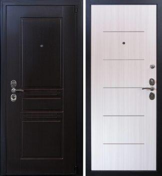 Стальная дверь Воевода Твердыня Чиза Сандал белый
