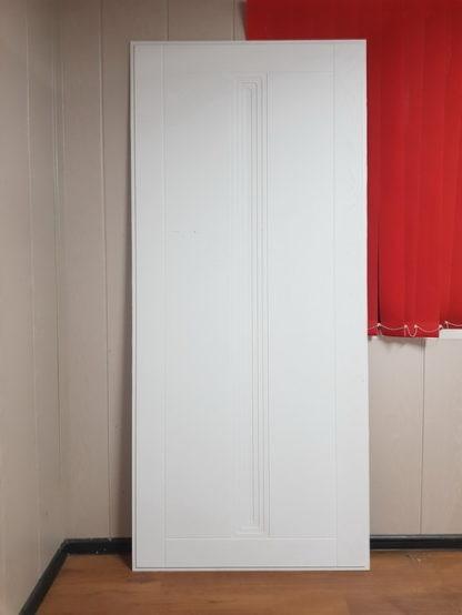 Входная дверь Аргус Вертикаль Белый Роял Вуд