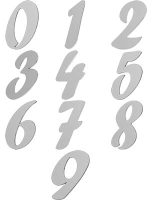Цифры для номера квартиры на входную дверь